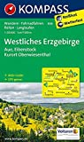 KOMPASS Wanderkarte Westliches Erzgebirge, Aue, Eibenstock, Kurort Oberwiesenthal: Wanderkarte mit Aktiv Guide, Radwegen, Reitwegen und Loipen. GPS-genau. 1:50000 (KOMPASS-Wanderkarten, Band 806)