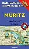 Rad-, Wander- und Gewässerkarte Müritz: Mit Waren, Kagow, Klink, Jabel, Röbel, Rechlin und Mirow. Doppelkarte. Maßstab 1:35.000. Wasser- und reißfest. ... / Rad-, Wander- und Gewässerkarten, 1:35.000)