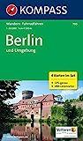 KOMPASS Wanderkarte Berlin und Umgebung: Wanderkarten-Set mit Radrouten. GPS-genau. 1:50000 (KOMPASS-Wanderkarten, Band 700)