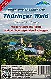 Thüringer Wald: Biker- und Erlebniskarte