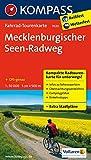 Mecklenburgischer Seen Radweg 1 : 50 000: Fahrrad-Tourenkarte. GPS-genau. 1:50000. (KOMPASS-Fahrrad-Tourenkarten, Band 7020)