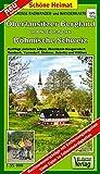 Große Radwander- und Wanderkarte Oberlausitzer Bergland und Nationalpark Böhmische Schweiz: Ausflüge zwischen Löbau, Ebersbach-Neugersdorf, Rumburk, ... Tipps zu Sehenswürdigkeiten (Schöne Heimat)