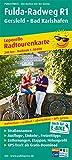 Fulda-Radweg, Gersfeld - Hann. Münden: Leporello Radtourenkarte mit Ausflugszielen, Einkehr- & Freizeittipps, wetterfest, reissfest, abwischbar, ... (Leporello Radtourenkarte / LEP-RK)