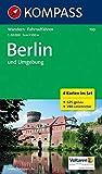 KOMPASS Wanderkarte Berlin und Umgebung: Wanderkarten-Set mit Radrouten. GPS-genau. 1:50000: 4-delige Wandelkaart 1:50 000 (KOMPASS-Wanderkarten, Band 700)
