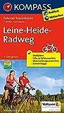 Fahrrad-Tourenkarte Leine-Heide-Radweg: Fahrrad-Tourenkarte. GPS-genau. 1:50000. (KOMPASS-Fahrrad-Tourenkarten, Band 7057)