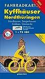 Fahrradkarte Südharz, Kyffhäuser: Mit Nordhausen, Sangerhausen, Eisleben, Sömmerda und Kyffhäuser-Radweg. Offizielle Karte des ADFC-Landesverbandes ... Mit Werra-Unstrut-Radweg (Fahrradkarten)
