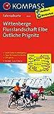 KOMPASS Fahrradkarte Wittenberge - Flusslandschaft Elbe - Östliche Prignitz: Fahrradkarte. GPS-genau. 1:70000 (KOMPASS-Fahrradkarten Deutschland, Band 3026)
