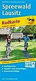 Spreewald - Lausitz: Radkarte mit Ausflugszielen, Einkehr- & Freizeittipps, wetterfest, reissfest, abwischbar, GPS-genau. 1:100000: Lübbenau - Cottbus ... Tourenvorschlägen (Radkarte / RK)