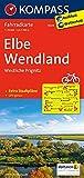 KOMPASS Fahrradkarte Elbe - Wendland - Westliche Prignitz: Fahrradkarte. GPS-genau. 1:70000 (KOMPASS-Fahrradkarten Deutschland, Band 3024)