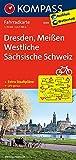 KOMPASS Fahrradkarte Dresden, Meißen, Westliche Sächsische Schweiz: Fahrradkarte. GPS-genau. 1:70000 (KOMPASS-Fahrradkarten Deutschland, Band 3085)