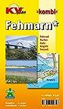 Fehmarn: 1:12.500 Ortspläne mit Inselkarte 1:30.000 inkl. Radrouten, Surf- und Angelplätzen: Inselkarte 1:27.500 mit Ortsplänen in 1:12.500; inkl. 7 ... (KVplan Schleswig-Holstein-Region)