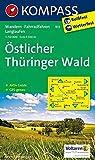KOMPASS Wanderkarte Östlicher Thüringer Wald: Wanderkarte mit Aktiv Guide, Radwegen und Loipen. 1:50000: Wandelkaart 1:50 000 (KOMPASS-Wanderkarten, Band 813)