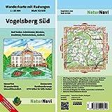 Vogelsberg Süd: Wanderkarte mit Radwegen, Blatt 52-558, 1 : 25 000, Bad Soden-Salmünster, Birstein, Brachttal, Freiensteinau, Gedern: Wanderkarte mit ... (NaturNavi Wanderkarte mit Radwegen 1:25 000)