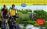 Hase-Ems-Tour, Kompakt-Spiralo, Radwanderkarte 1 : 50 000