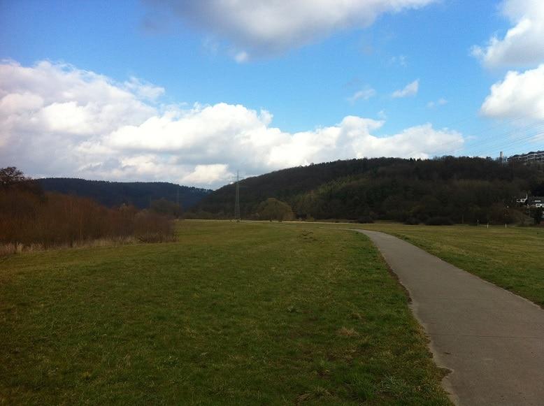 Fuldaradweg bei Bad Hersfeld