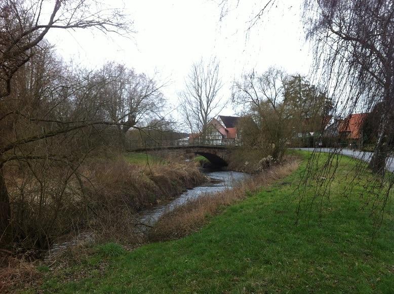 Fuldaradweg bei Niederaula