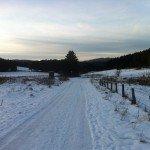 Ruhrtalradweg im Winter